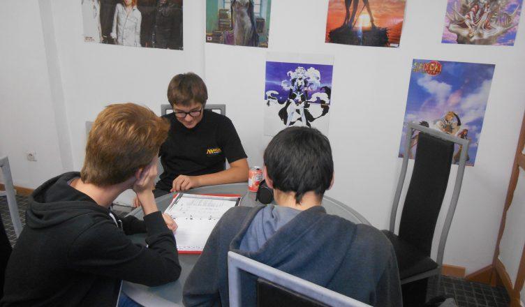 Manga-café, Atelier, Cours de japonais