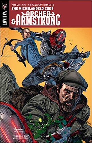 Comics, Archer&Armstrong