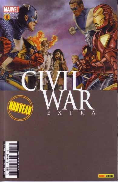 Comics, Civil War Extra, Manga Café Kyo'Hon