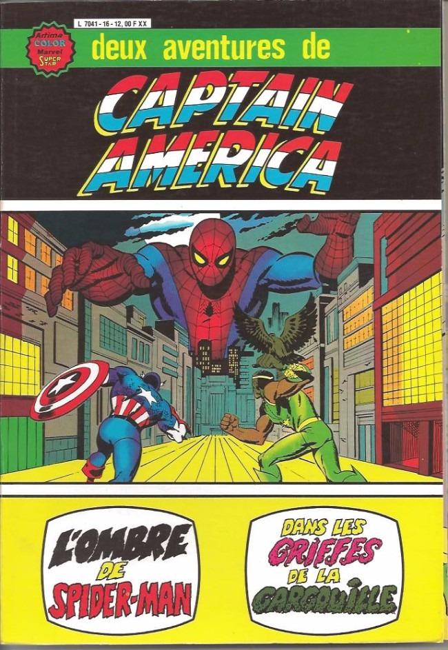 Comics, Deux aventures de Captain America, Manga Café Kyo'Hon
