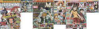 Magazines, Jap'Anime