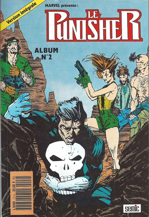 Comics, Le Punisher, Manga Café Kyo'Hon
