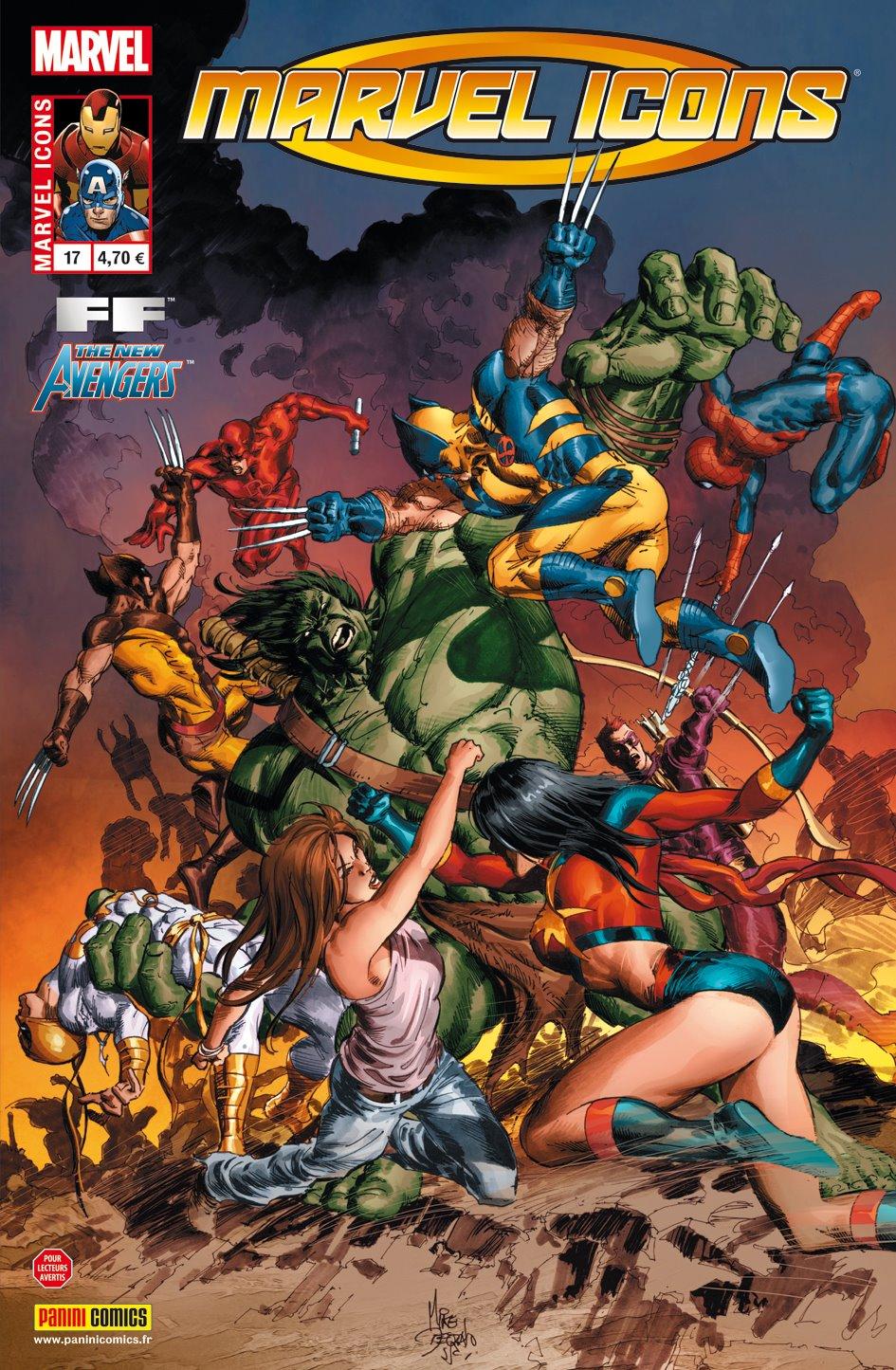 Comics, Marvel Icons