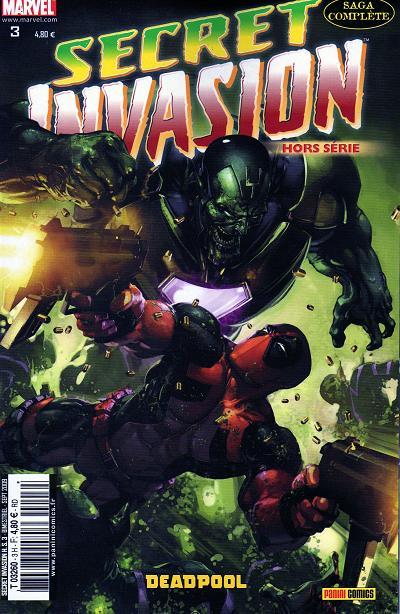 Comics, Secret Invasion HS