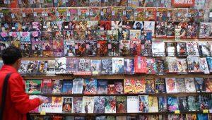 bibliothèque comics beziers