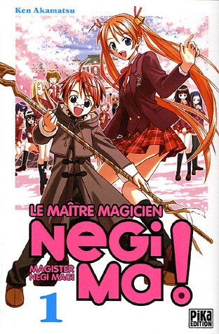Manga, Shonen, Negima !