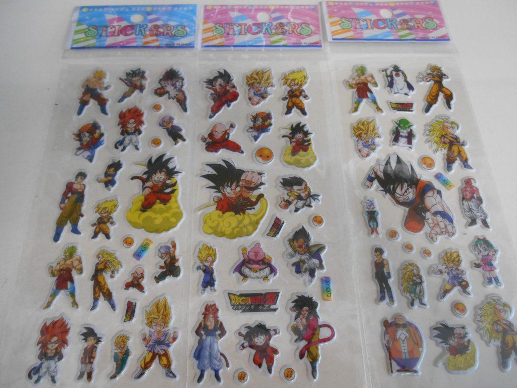 Stickers DragonBall - 2€/pièce