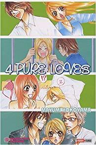 Manga, Shojo, 4 Pure Loves