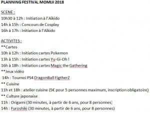PLanning Festival Momiji 2018, Association Kyo'Hon, Manga Café Béziers