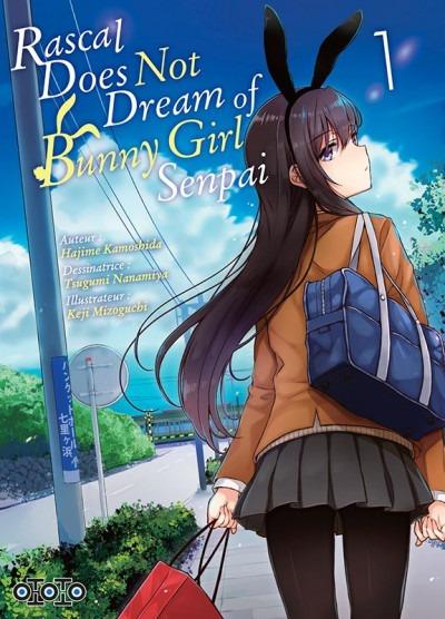 Manga, Seinen, Rascal does not dream of bunny girl senpai
