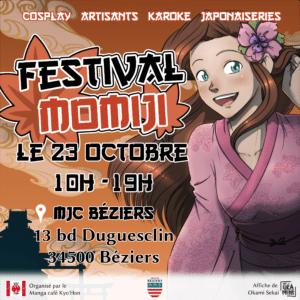 Festival Momiji 4ème édition @ MJC Béziers